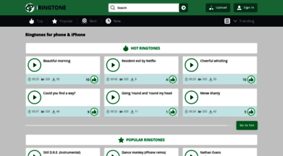 iringtone.net - free ringtones download to phone and iphone
