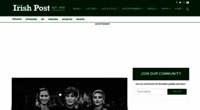 irishpost.com - the irish post - latest news for the global irish