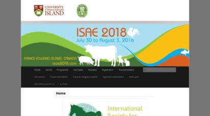 isae2018.com - isae congress 2018  prince edward island, canada