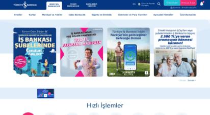 isbank.com.tr - bireysel bankacılık işlemleri  türkiye iş bankası