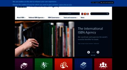 isbn-international.org - the international isbn agency  international isbn agency