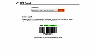 isbnsearch.org - isbn search