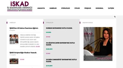 iskad.org - .: işkad  iş kadinlari derneği  ssociation of business women :.