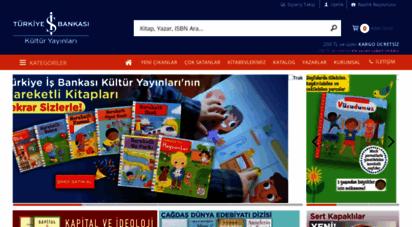 iskultur.com.tr - türkiye iş bankası kültür yayınları