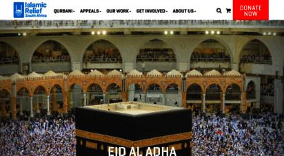 islamic-relief.org.za - islamic relief sa humanitarian ngo - donate zakat & sadaqah
