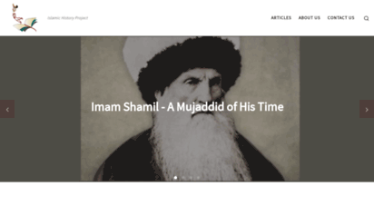 islamichistoryproject.com - islamic history project - empowering muslims through history
