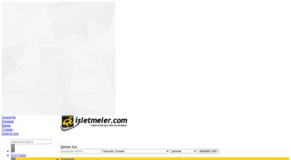 isletmeler.com - işletmeler rehberi,iş rehberi,işletmeler listesi,firma rehb