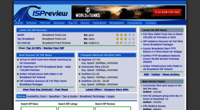 ispreview.co.uk - ispreview uk - top broadband isp internet service provider information site