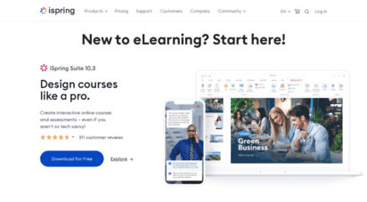 ispringsolutions.com - elearning software: lms and authoring tool  ispring