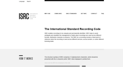 Welcome to Isrc.ifpi.org - Hom...