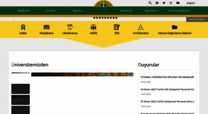 istanbul.edu.tr