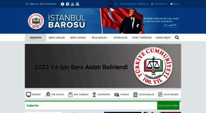 istanbulbarosu.org.tr - istanbul barosu