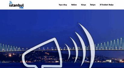 istanbulfm.com.tr - istanbul fm 88.6  gençliğin radyosu
