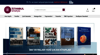 istanbulkitapcisi.com - ýstanbul kitapçýsý