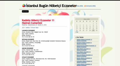 istanbulnobetcieczane.wordpress.com