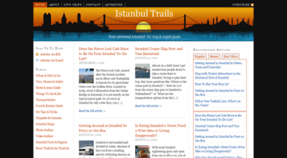 istanbultrails.com - istanbul trails  your istanbul tourist & expat travel guide