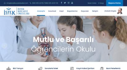 istekkocaeliokullari.com - anasayfa - istek kocaeli okulları