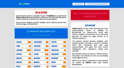 isvekurs.com - iş ve kurs - 2020 iş ilanları ve işkur kursları