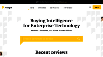 itcentralstation.com - enterprise tech product reviews from real users  it central station