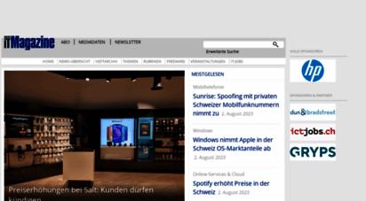 itmagazine.ch - swiss it magazine - news und know-how für die ict-branche