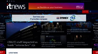 itnews.com.au - itnews - for australian business