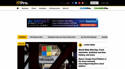 itpro.co.uk - it pro  enterprise & business it news, reviews, features & how tos