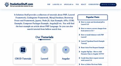 itsolutionstuff.com - it solution stuff - tutorial it language site  see demo example - itsolutionstuff.com