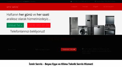 izmirservis.org - izmir beyaz eşya ve klima teknik servisi  0232 346 2 346 - 0850 346 30 30