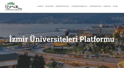 izmiruniversiteleri.com - izmir üniversiteleri platformu - izmir üniversiteleri platformu