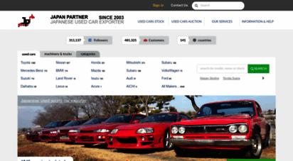 japan-partner.com - japanese used cars - japan partner