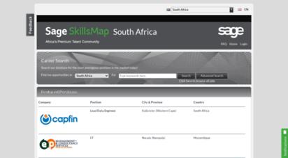 Sage Skills Map Africa Welcome to Jb.skillsmapafrica.  SkillsMap