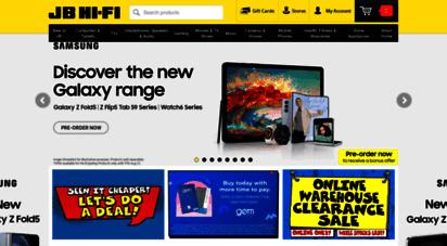 jbhifi.co.nz - jb hi-fi  new zealand´s home entertainment specialist