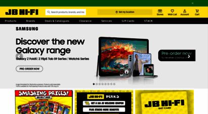 jbhifi.com.au - jb hi-fi - australia´s largest home entertainment retailer