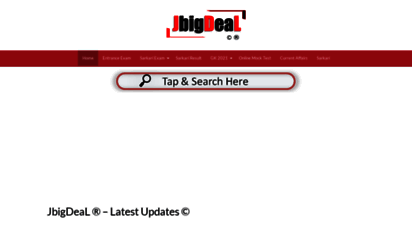 jbigdeal.in - jbigdeal ® - latest s ©