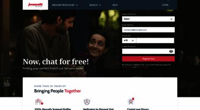 jeevansathi.com - matrimony, marriage, free matrimonial sites, match making