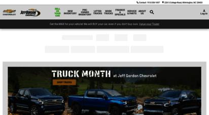 Welcome To Jeffgordonchevrolet Net Jeff Gordon Chevrolet