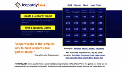 jeopardylabs.com - jeopardylabs - online jeopardy template