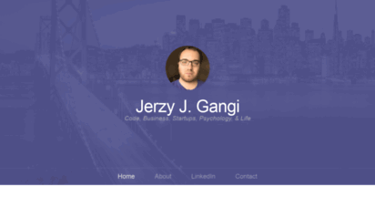 jerzygangi.com - jerzy´s notes