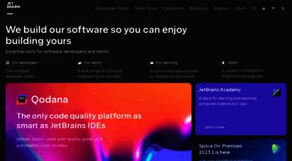 jetbrains.com - jetbrains: developer tools for professionals and teams