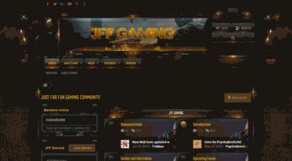jffgaming.com - just for fun gaming community