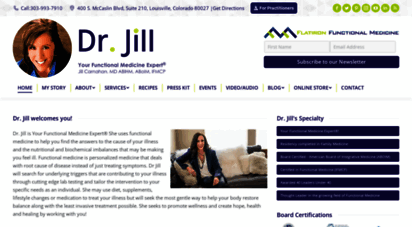 jillcarnahan.com - dr. jill carnahan flatiron functional medicine - jill carnahan, md