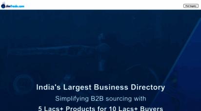 jimtrade.com - india business directory, indian suppliers directory, indian products & services directory