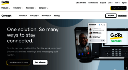 jive.com - business phone system & voip services  jive is now gotoconnect