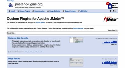 Welcome to Jmeter-plugins org - JMeter Plugins :: JMeter