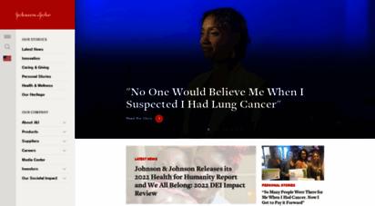 jnj.com - johnson & johnson homepage  johnson & johnson