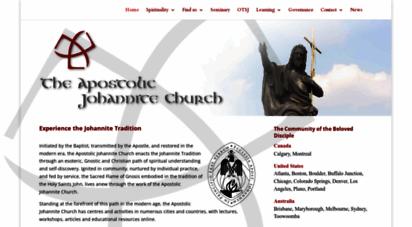 johannite.org - apostolic johannitechurch :: an esoteric gnostic istian comm with valid apostolicsuccession