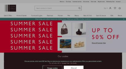 johnlewis.com - john lewis & partners  homeware, fashion, electricals & more