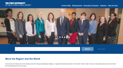 jointheportauthority.com - the port authority of new york and new jersey - careers