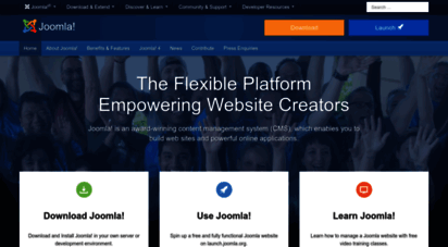 joomla.org - joomla content management system cms - try it for free!