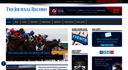 journalrecord.com - the journal record - your business is our business